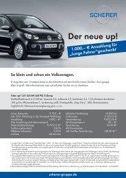Der neue up! - Scherer Gruppe