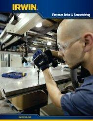 Fastener Drive & Screwdriving - Irwin Tools