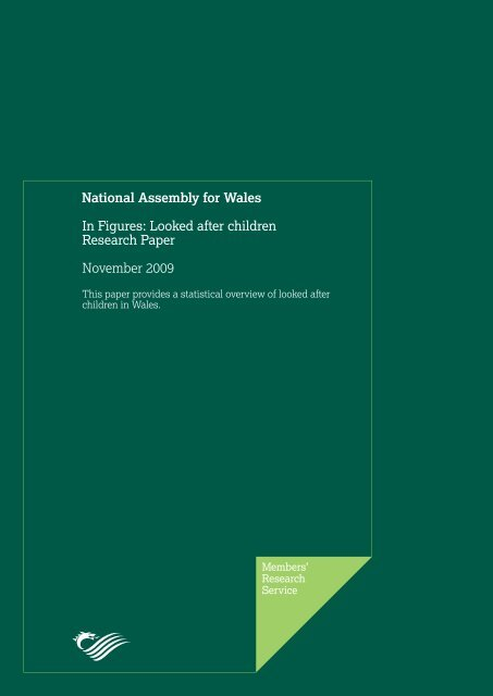 Looked after children Research Paper - National Assembly for Wales