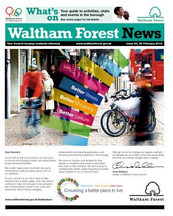 Issue 60: Party on the Pitch - Waltham Forest Council