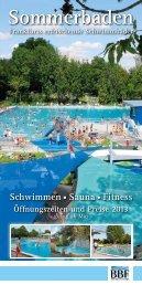 Sommerbaden - BäderBetriebe Frankfurt GmbH