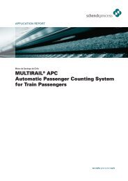 MULTIRAIL® APC Automatic Passenger Counting System for Train ...