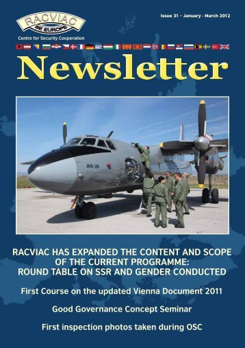 racviac expanded the content and scope of the current programme