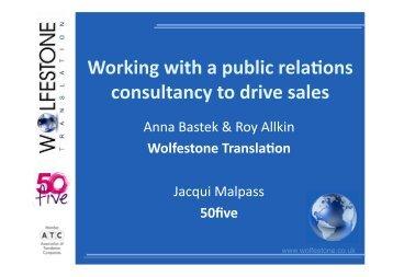 Roy Allkin - Association of Translation Companies