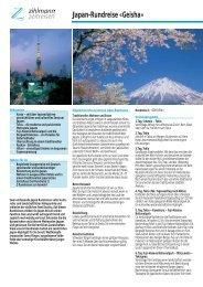 Japan-Rundreise «Geisha» - Zihlmann Zeitreisen