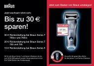 Bis zu 30 - Elektromarkt Hesse