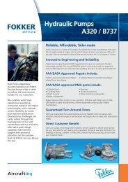 ACMP / EDP Hydraulic Pumps B757 / B767 - Fokker Services