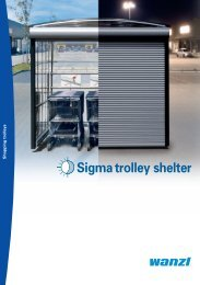 Sigma trolley shelter - Expedit