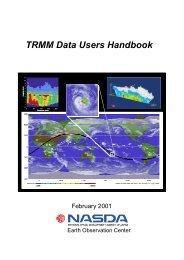 TRMM Data Users Handbook
