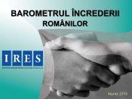 [001] Institutul Roman pentru Evaluare si Stategie, Barometrul