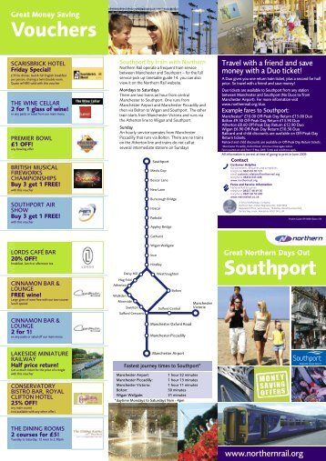 NR0903-130 A3 Southport Pocket Guide - Northern Rail