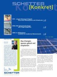 Nr. 1 - Juni 2002 [PDF] - Schetter GmbH