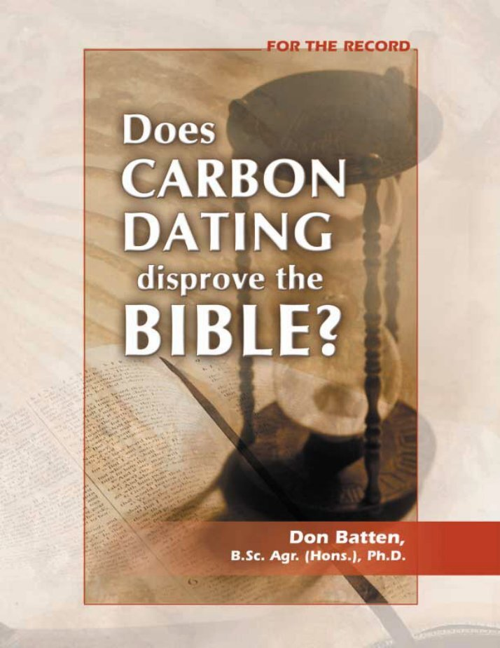christian answers carbon dating C14 dating is very accurate for wood used up to about 4,000 years ago this is only because it is well calibrated with objects of known age example: wood found in a grave of known age by historically reliable documents is the standard for that time for the c14 content.