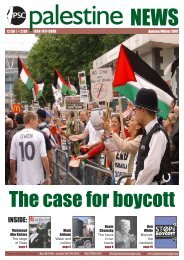 The case for boycott - Palestine Solidarity Campaign