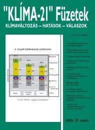 KLÍMA-21 Füzetek 57. szám - VAHAVA Hálózat