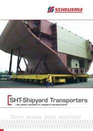 Turn mass into motion! SHT-Shipyard Transporters - Scheuerle