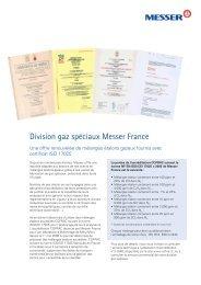 Brochure division GS MF - Messer