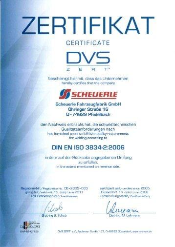 DVS - Scheuerle