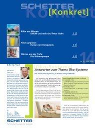 Nr. 14 - Mai 2006 [PDF] - Schetter GmbH