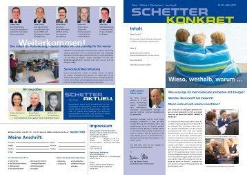 Nr. 30 - März 2012 [PDF] - Schetter GmbH