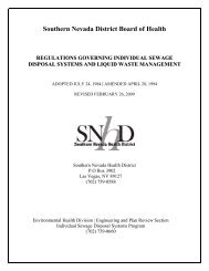 Regulations Governing Individual Sewage Disposal Systems and ...