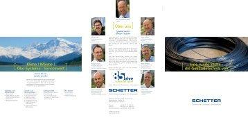 Wärme | Öko-Systeme | Servicewelt - Schetter GmbH