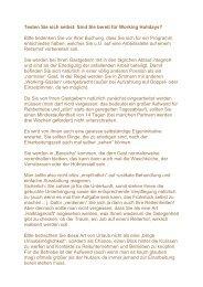 Testen Sie sich selbst - Katja van Leeuwen Reitferienvermittlung
