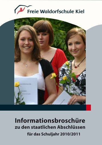 FWS Kiel Infobroschuere Schulabschluesse 2010_11.pdf - Freie ...