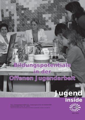 Jugend - Steirischer Dachverband der offenen Jugendarbeit