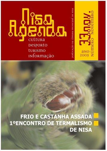 FRIO E CASTANHA ASSADA 1ºENCONTRO DE TERMALISMO DE ...