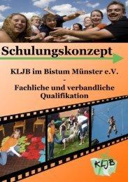 Schulungskonzept - KLJB-Münster