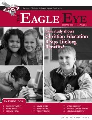 Christian Education Reaps Lifelong Benefits! - Santiam Christian ...