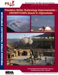 Download/Print/View the Symposium brochure - Precision Strike ...