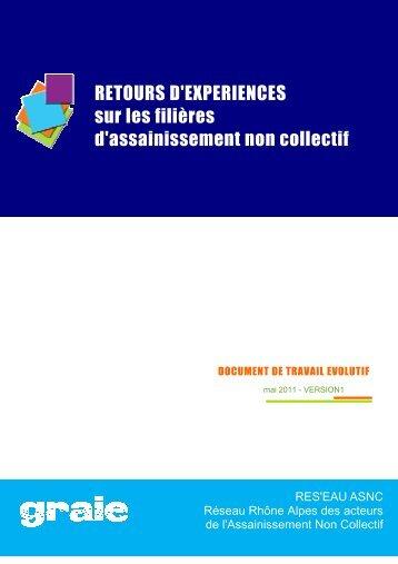 RETOURS D'EXPERIENCES sur les filières d'assainissement non ...