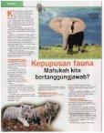 Kepupusan Fauna - Akademi Sains Malaysia - Page 6