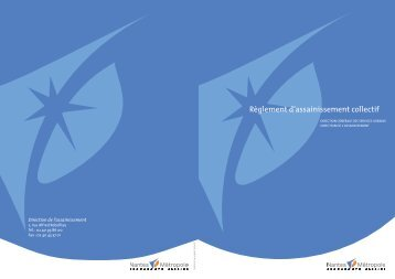 Règlement d'assainissement collectif - Graie
