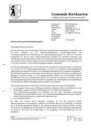 Musteranschreiben Getrennte Abwassergebühr - Gemeinde ...