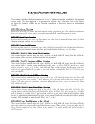 SURFACE PREPARATION STANDARDS - Protective Coatings ...