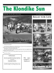 The Klondike Sun - Dawson City