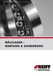WARtunG & schmiERunG - REIFF Technische Produkte