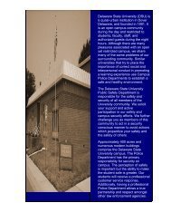 Delaware State University (DSU) is a quasi-urban institution in ...