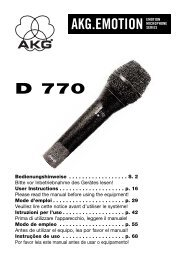 D 770 AKG.EMOTION EMOTION - AVC