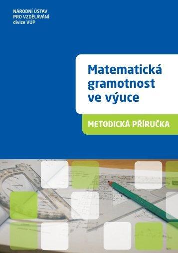 Matematická gramotnost ve výuce - Výzkumný ústav pedagogický v ...