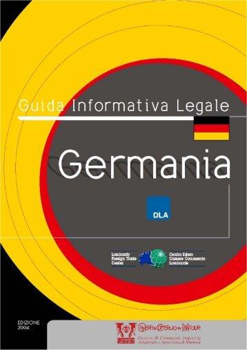 Germania - Camera di Commercio di Mantova
