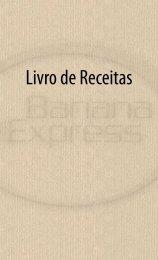 Livro de Receitas - Banana Express Orgânica