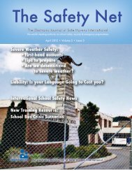 The Safety Net – April 2012 • Volume 2 • Issue 3 • Severe Weather ...
