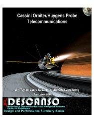 Cassini Orbiter/Huygens Probe Telecommunications - DESCANSO ...