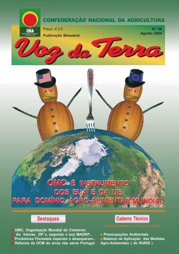 Voz da Terra, Agosto de 2004 - CNA