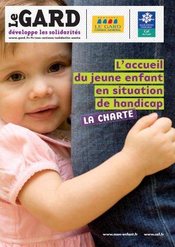 Charte de la petite enfance handicapée - Caf.fr