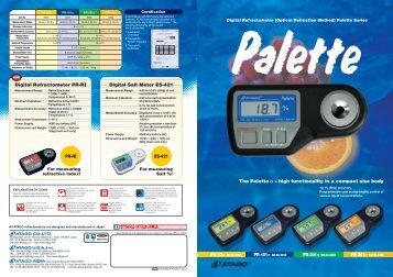 """palette"" series - food"